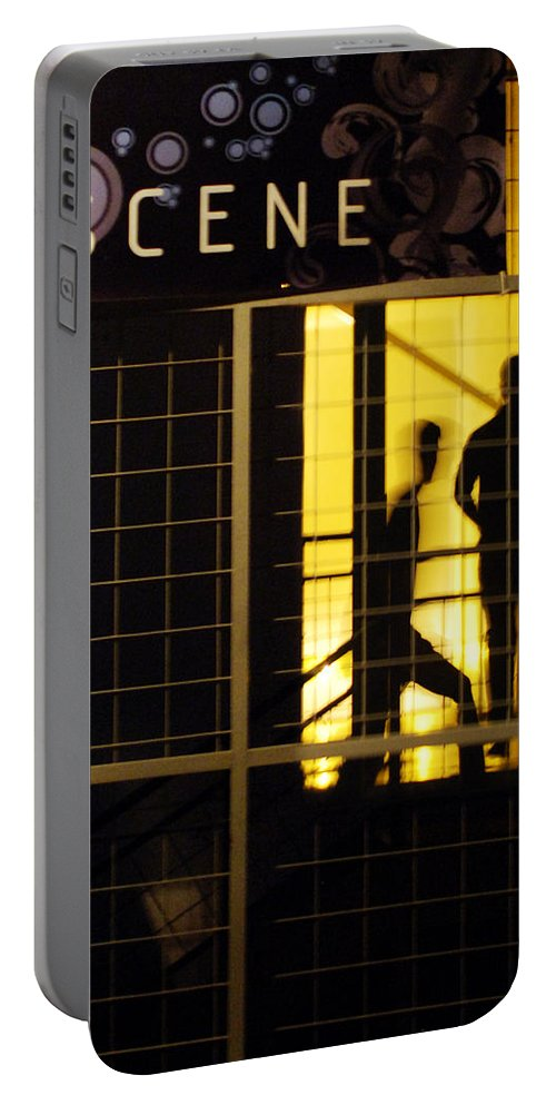 San Antonio Portable Battery Charger featuring the photograph The Scene San Antonio by Jill Reger