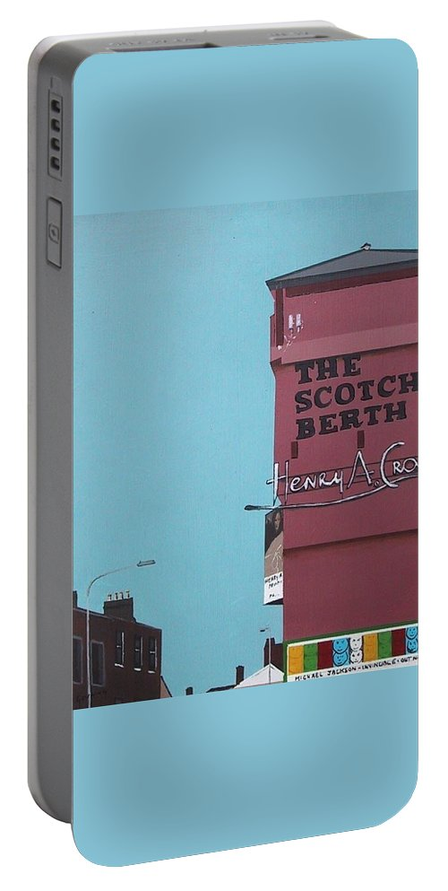 Scotch Berth Portable Battery Charger featuring the painting The Scotch Berth by Tony Gunning