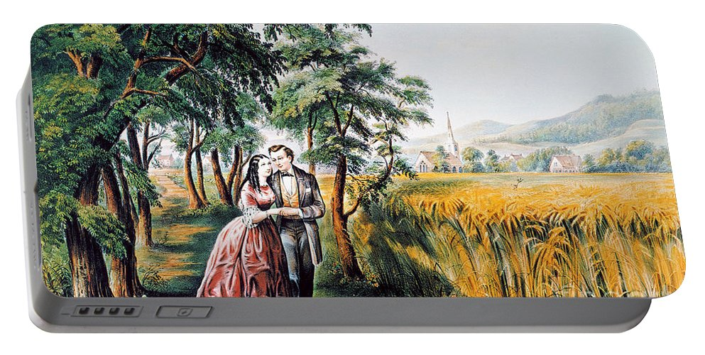 1868 Portable Battery Charger featuring the photograph The Season Of Love by Granger
