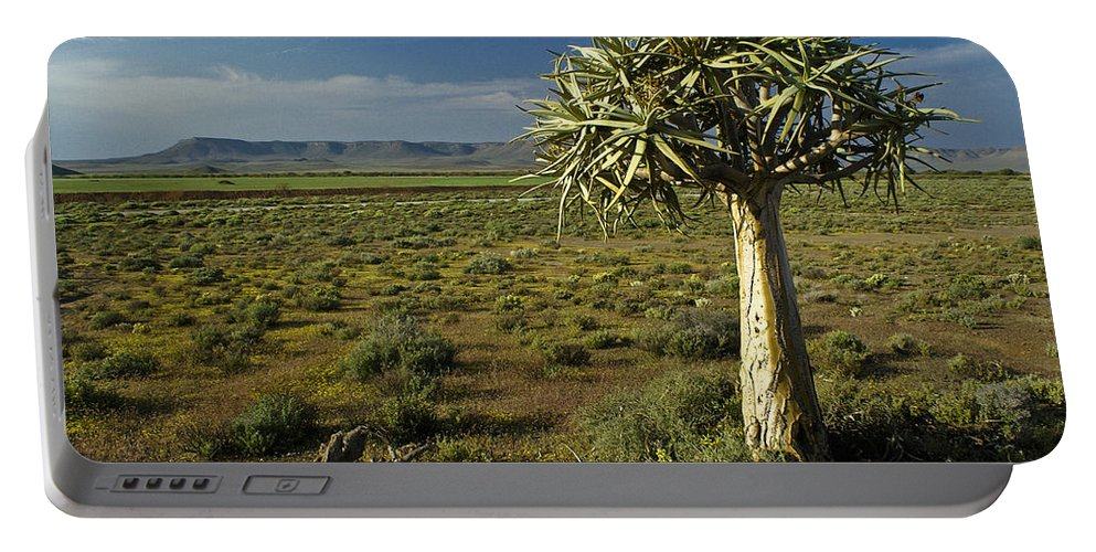 Africa Portable Battery Charger featuring the photograph The Sentinel by Michele Burgess