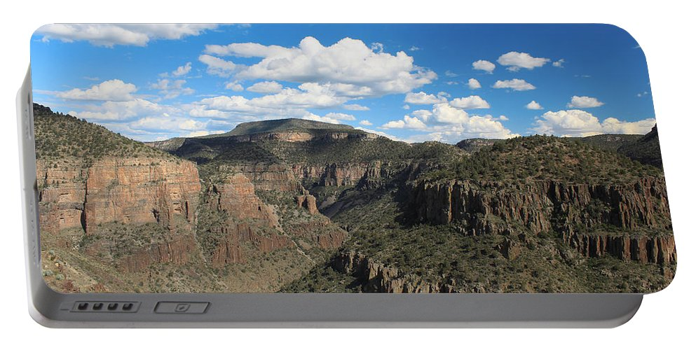 Landscape Portable Battery Charger featuring the photograph The Show Low Route by Nick Mattea