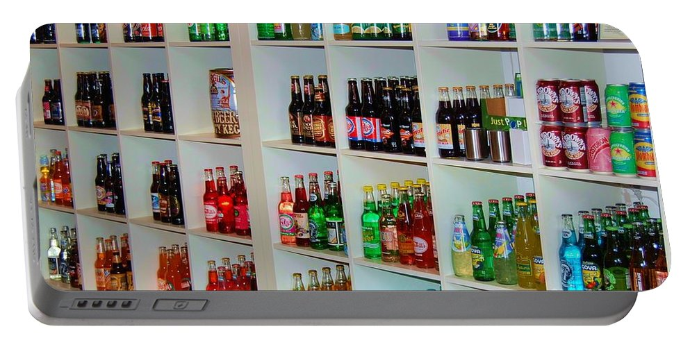 Soda Portable Battery Charger featuring the photograph The Soda Gallery by Debbi Granruth
