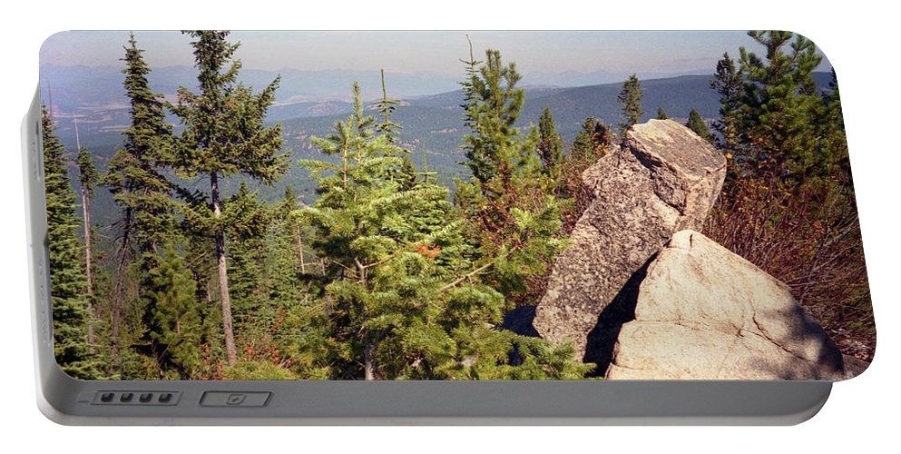 Landscapes Portable Battery Charger featuring the photograph The Star Gazer by Richard Rizzo
