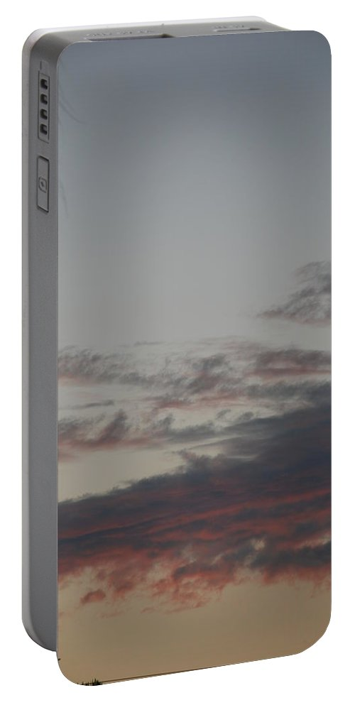 Sunset Portable Battery Charger featuring the photograph The Sunset by Rob Hans