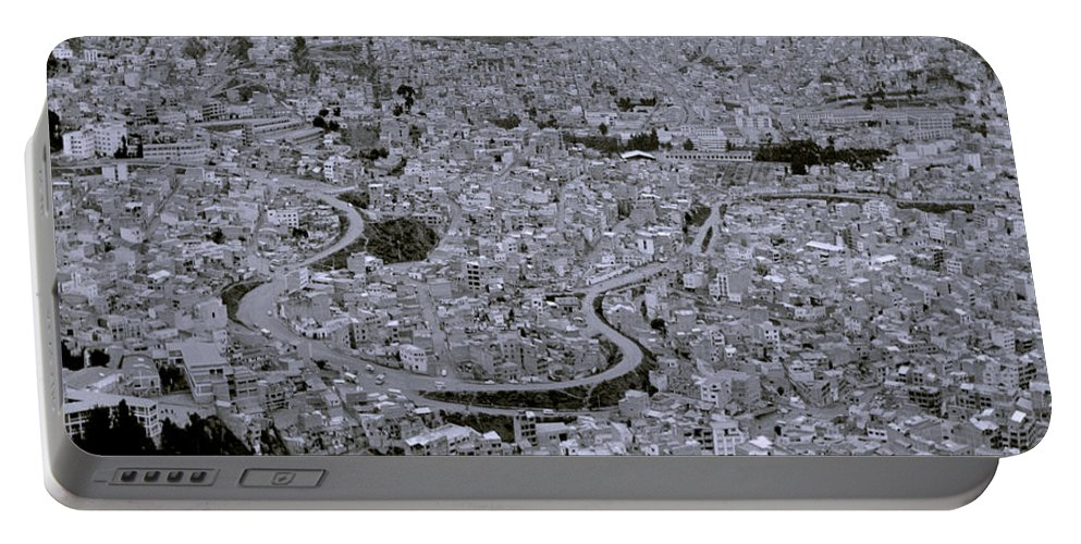 La Paz Portable Battery Charger featuring the photograph The Urban City by Shaun Higson