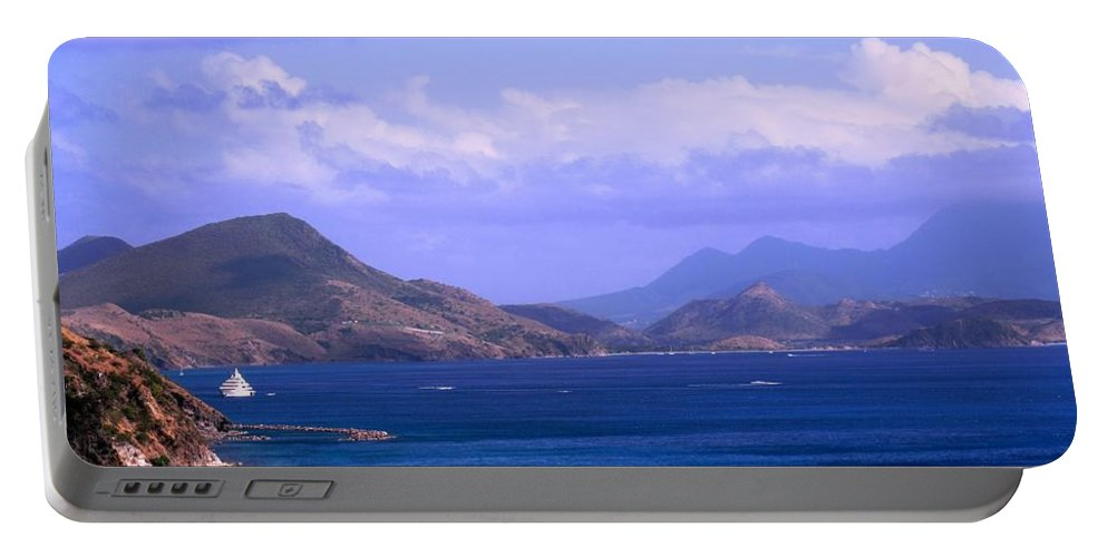 Marshalls Portable Battery Charger featuring the photograph The View From Marshalls by Ian MacDonald