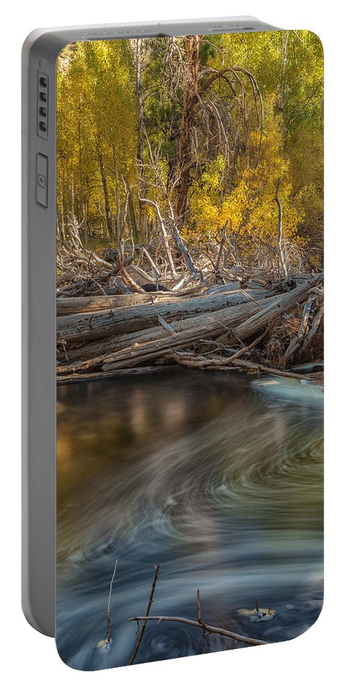 Fall Portable Battery Charger featuring the photograph The Vortex by Jonathan Nguyen