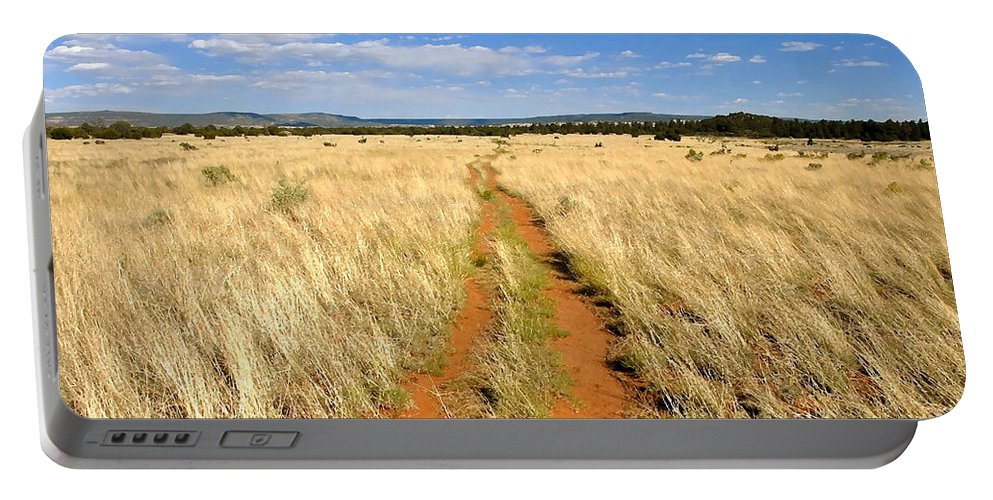 Trail Portable Battery Charger featuring the photograph The Westward Trail by David Lee Thompson