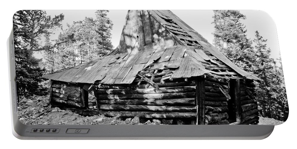 Rustic Portable Battery Charger featuring the photograph The Witch Hat by James BO Insogna