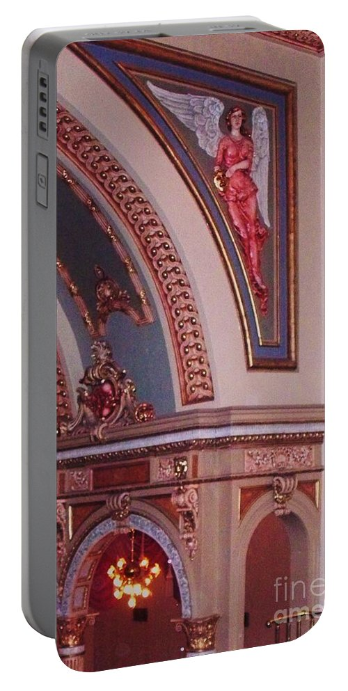 Theater Portable Battery Charger featuring the photograph Theater by Eric Schiabor