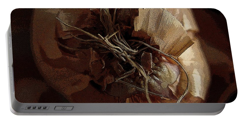 Digital Image Portable Battery Charger featuring the photograph Thin Skin by Ron Bissett