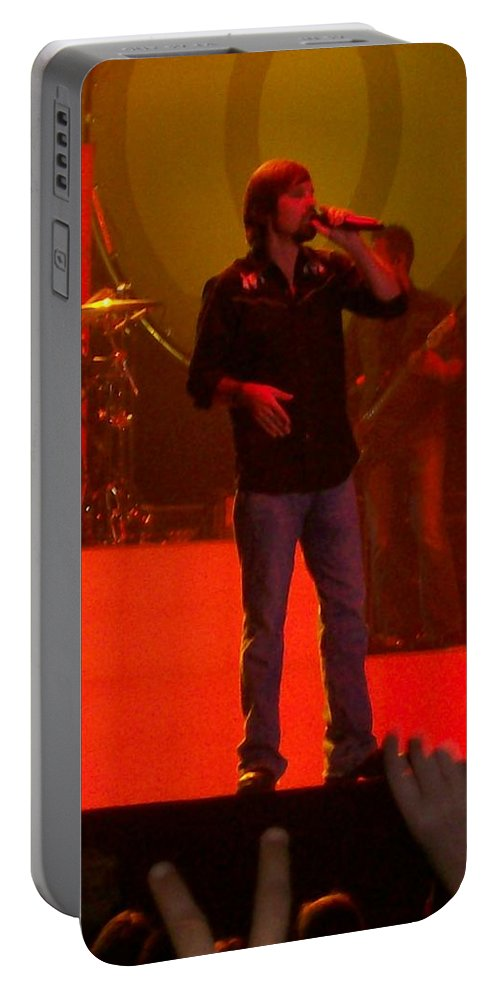 Third Day Concert Portable Battery Charger featuring the photograph Third Day by R Chambers