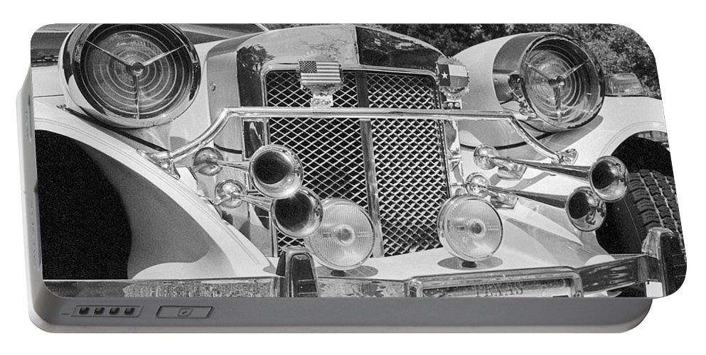 Old Cars Portable Battery Charger featuring the photograph Thirties Roadster by Jim Smith