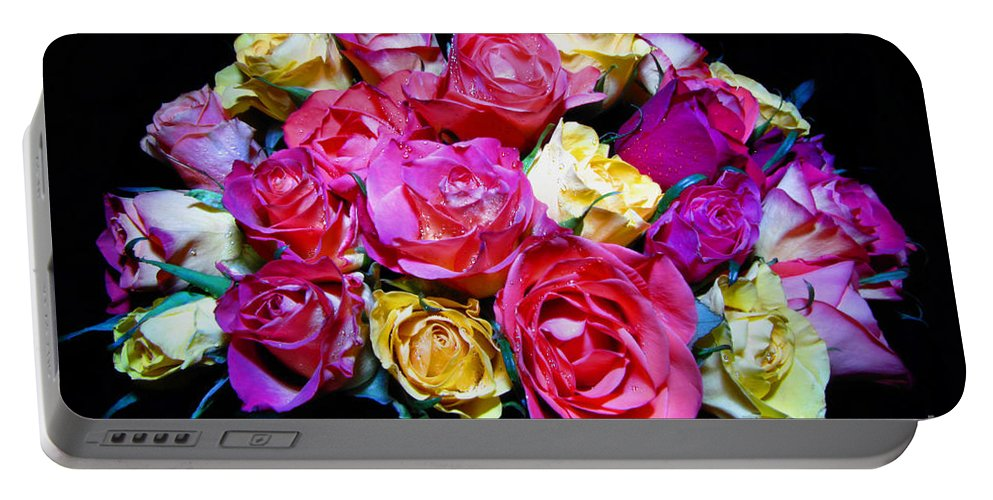 Roses Portable Battery Charger featuring the photograph Thirty Six 2 by September Stone