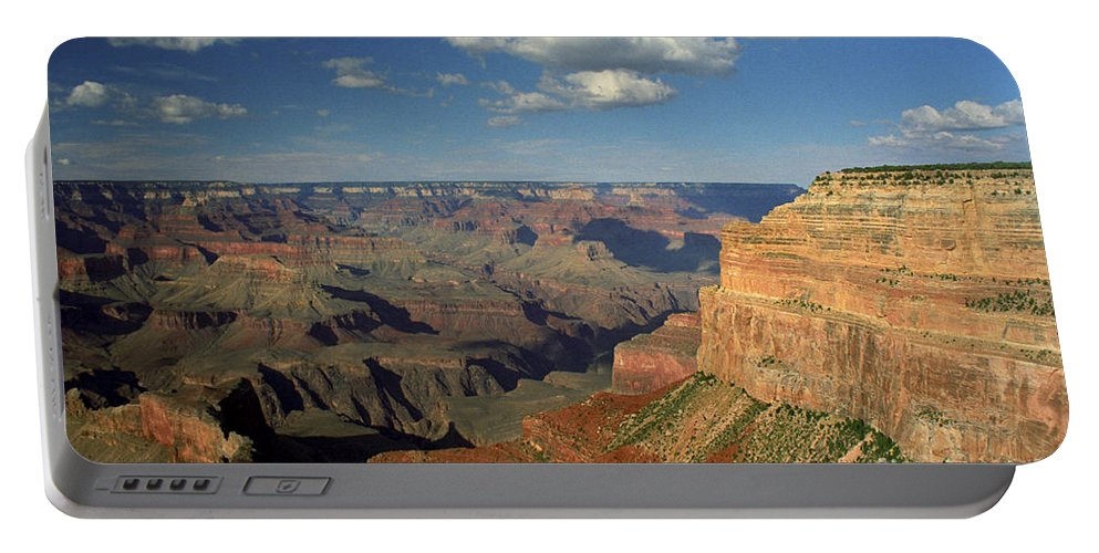 Grand Canyon Portable Battery Charger featuring the photograph This Is My Father's World by Kathy McClure