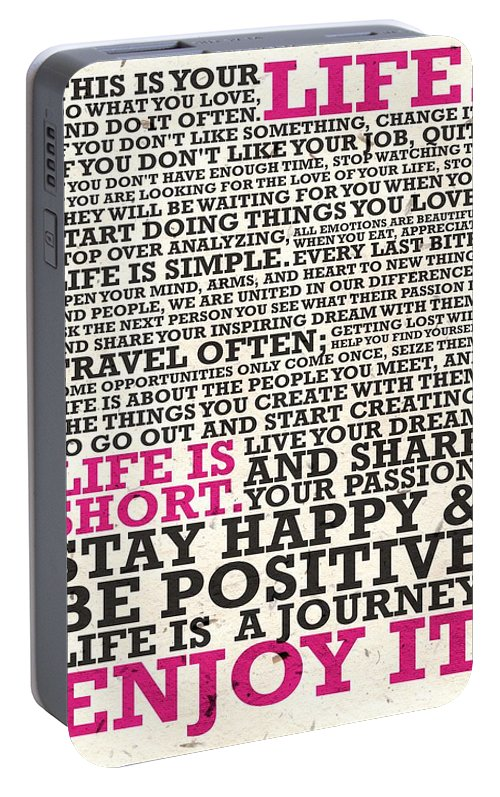 This Is Your Life Do What You Love Inspirational Quotes Poster Custom This Is Your Life Quote Poster