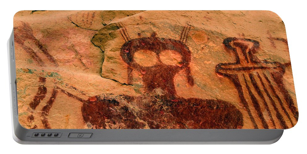 Shaman Portable Battery Charger featuring the photograph Thompsons Spring Shaman by David Lee Thompson