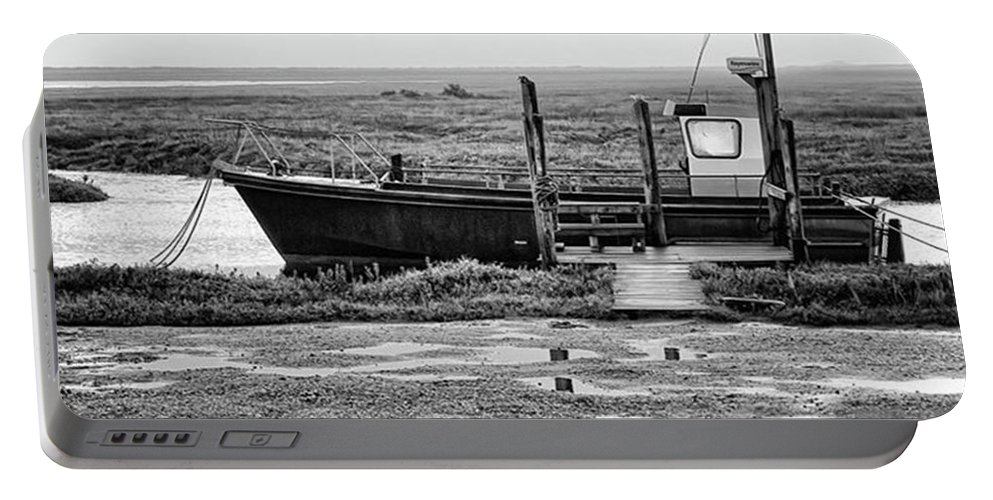 Amazing Portable Battery Charger featuring the photograph Thornham Harbour, North Norfolk by John Edwards