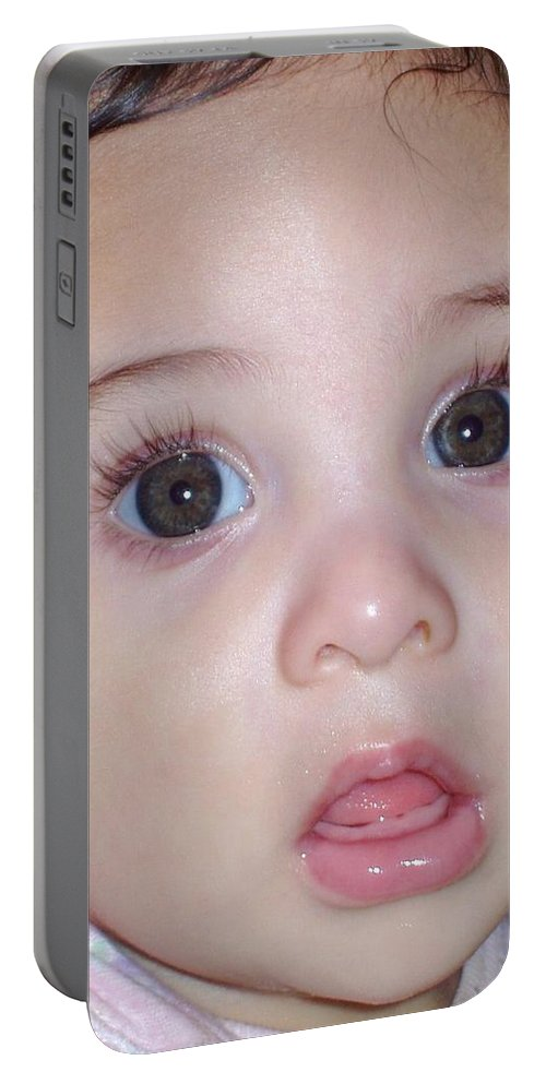 Deborah Crew-johnson Portable Battery Charger featuring the photograph Those Eyes by Deborah Crew-Johnson