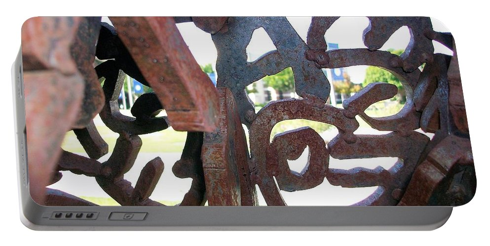 Ivc Portable Battery Charger featuring the photograph Through The Alphabet by Scott Ivens