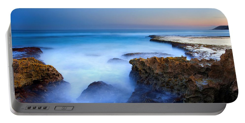 Pennington Bay Portable Battery Charger featuring the photograph Tidal Bowl Boil by Mike Dawson