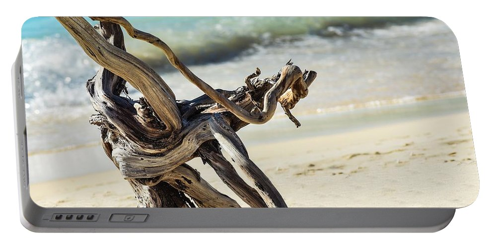Driftwood Portable Battery Charger featuring the photograph Tied In Knots by Janal Koenig
