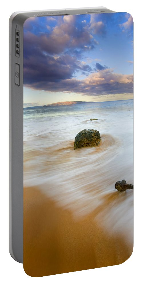 Maui Portable Battery Charger featuring the photograph Tied To The Past by Mike Dawson