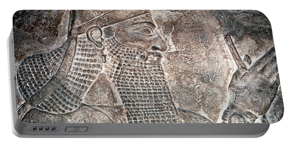 8th Century B.c. Portable Battery Charger featuring the photograph Tiglath Pileser IIi by Granger