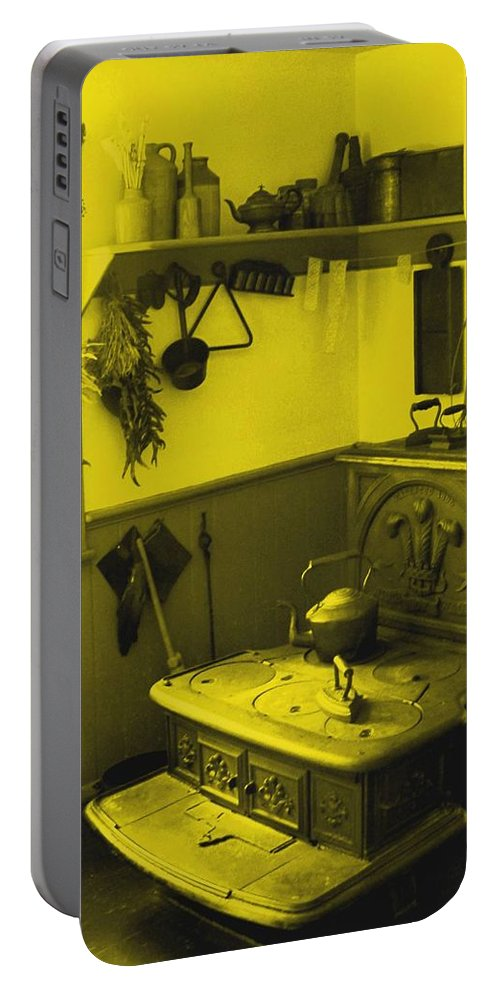 Iron Portable Battery Charger featuring the photograph Time For A New Kitchen by Ian MacDonald