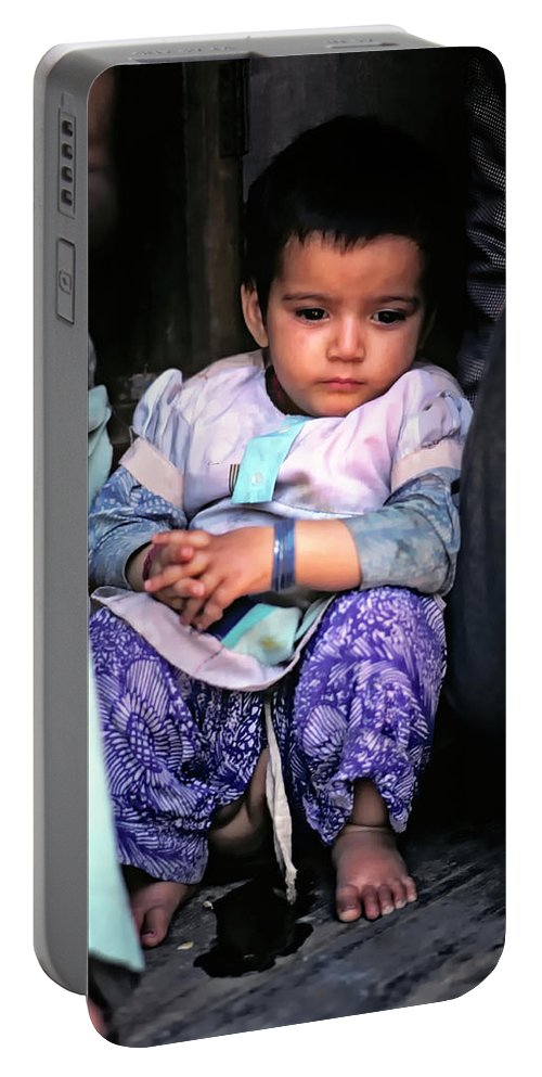 India Portable Battery Charger featuring the photograph Tiny Tinkler by Steve Harrington