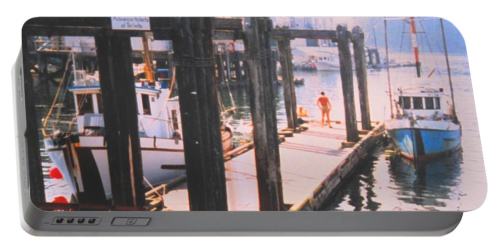 Tofino Portable Battery Charger featuring the photograph Tofino by Ian MacDonald