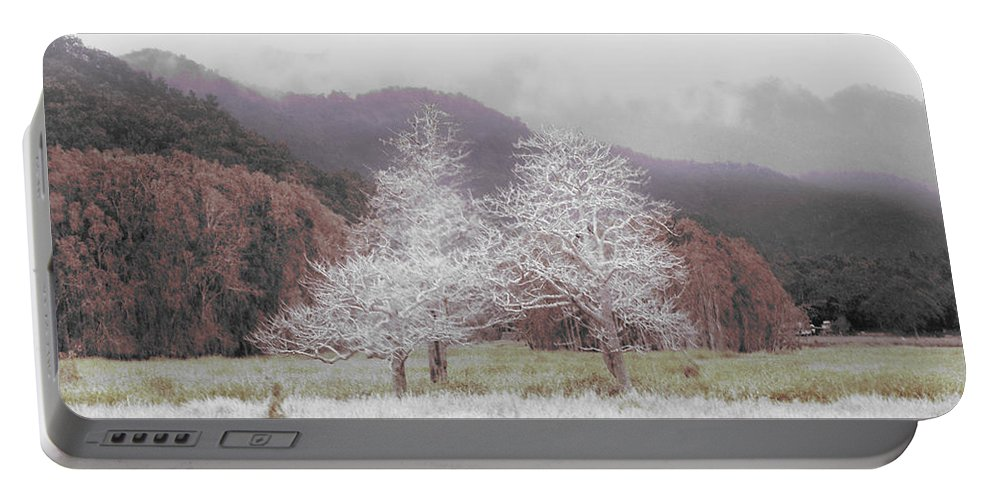 Landscape Portable Battery Charger featuring the photograph Together We Stand by Holly Kempe