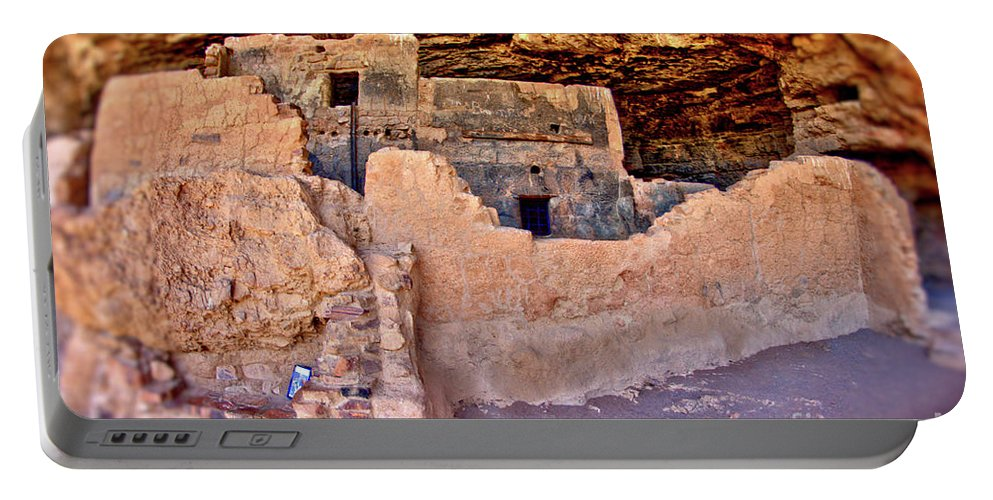 Tonto Portable Battery Charger featuring the photograph Tonto National Monument #1 by Mark Valentine