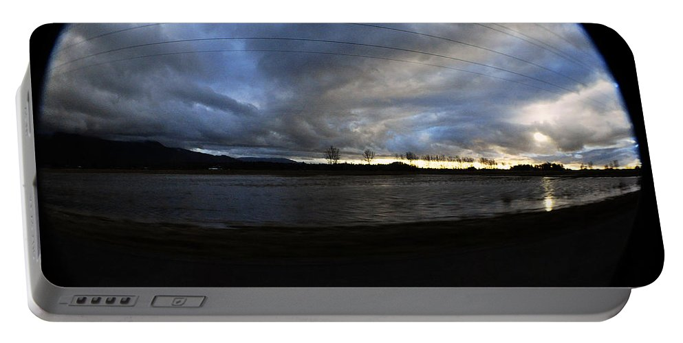 Clay Portable Battery Charger featuring the photograph Too Much Rain by Clayton Bruster