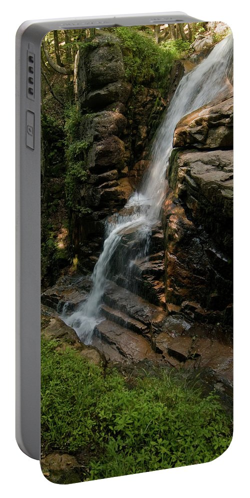 flume Gorge Portable Battery Charger featuring the photograph Top Of The Gorge by Paul Mangold