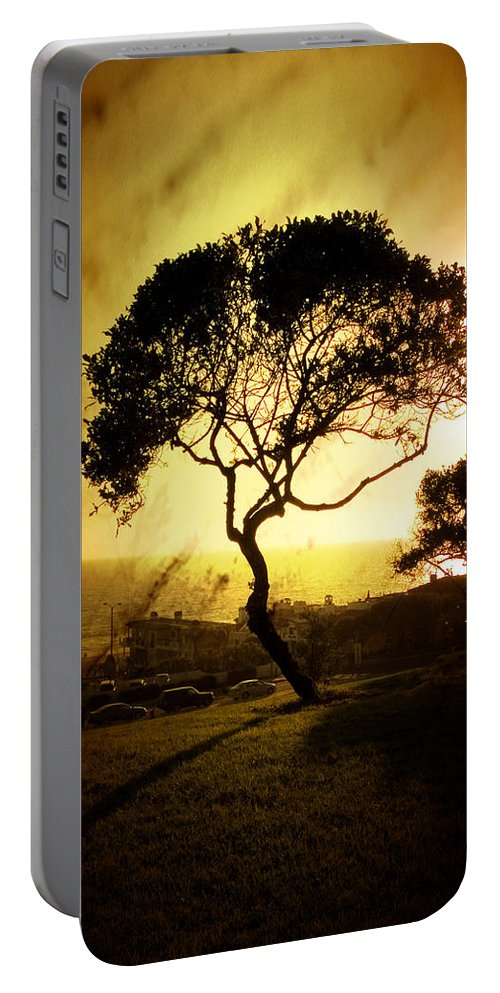 Tree Portable Battery Charger featuring the photograph Top Of The Hill by Scott Pellegrin