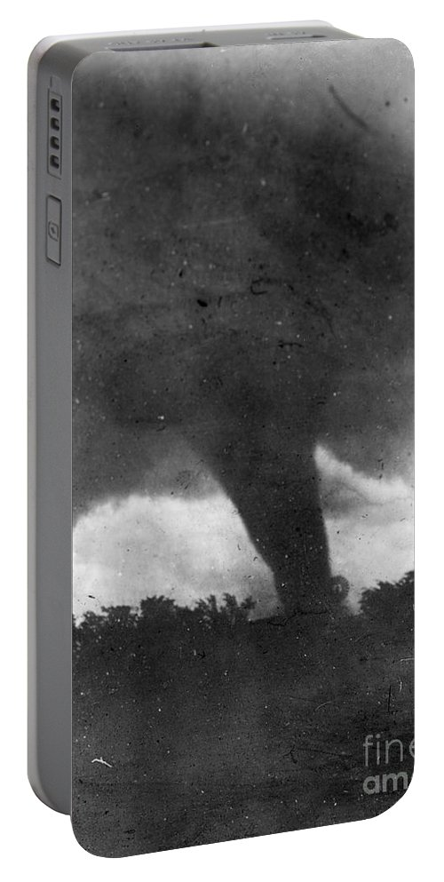1913 Portable Battery Charger featuring the photograph Tornado, C1913-1917 by Granger