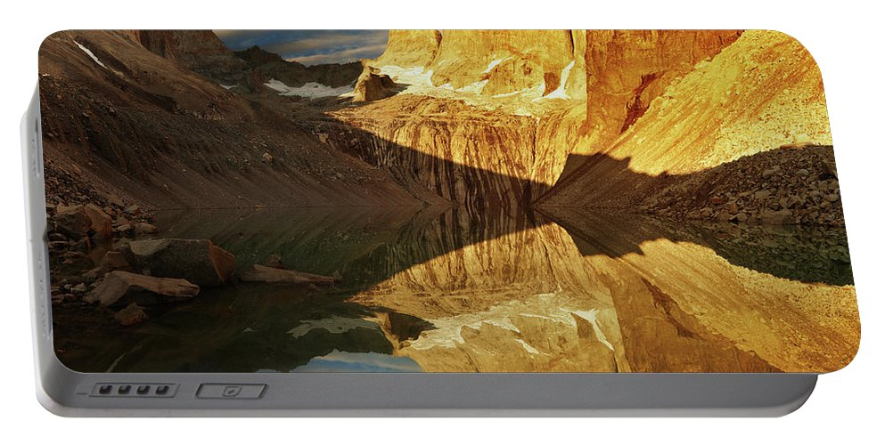 America Portable Battery Charger featuring the photograph Torres Del Paine by Dmitry Pichugin