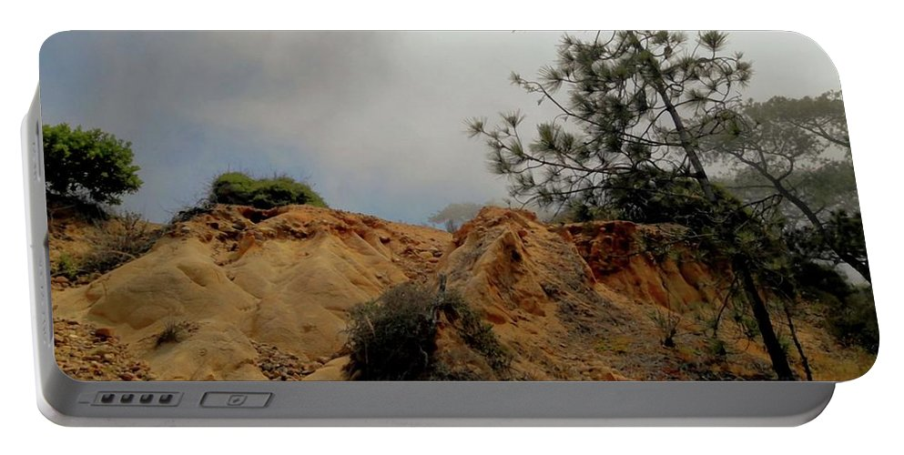Torrey Pines Portable Battery Charger featuring the photograph Torrey Pines-2 by Luv Photography