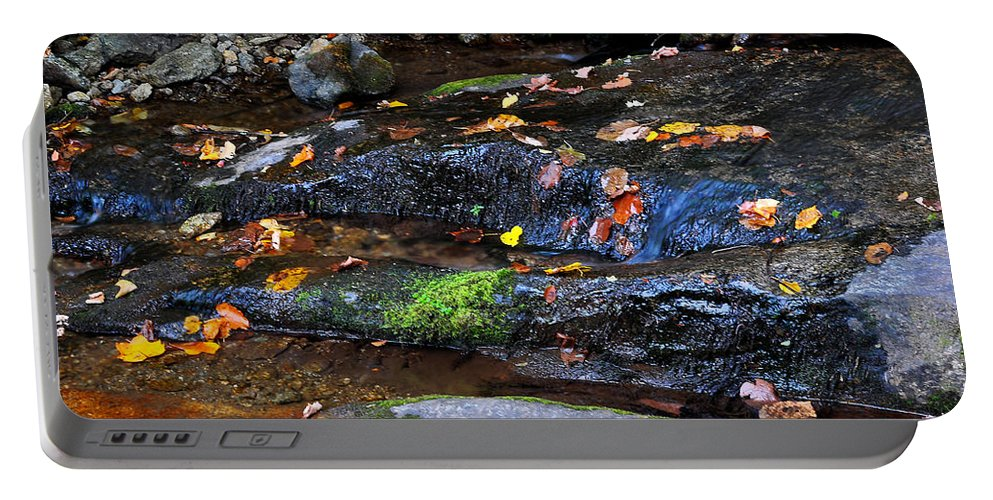 Water Portable Battery Charger featuring the photograph Touch Of Fall by Todd Hostetter