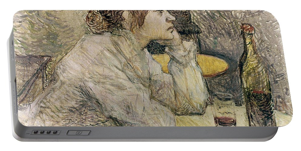 1889 Portable Battery Charger featuring the photograph Toulouse-lautrec, 1889 by Granger