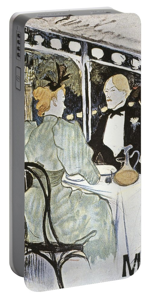 19th Century Portable Battery Charger featuring the photograph Toulouse-lautrec: Menu by Granger