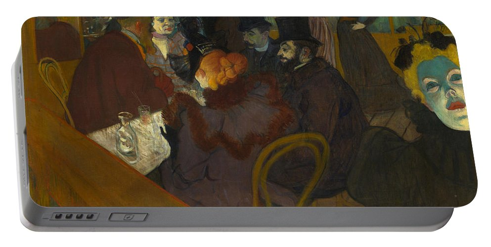 1894 Portable Battery Charger featuring the photograph Toulouse-lautrec Moulin Rouge by Granger