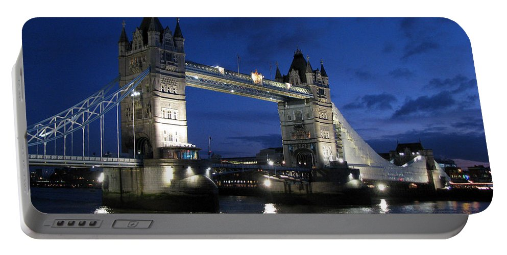 London Portable Battery Charger featuring the photograph Tower Bridge by Amanda Barcon