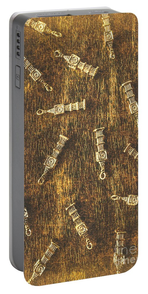 British Portable Battery Charger featuring the photograph Towers Of Old Britain by Jorgo Photography - Wall Art Gallery
