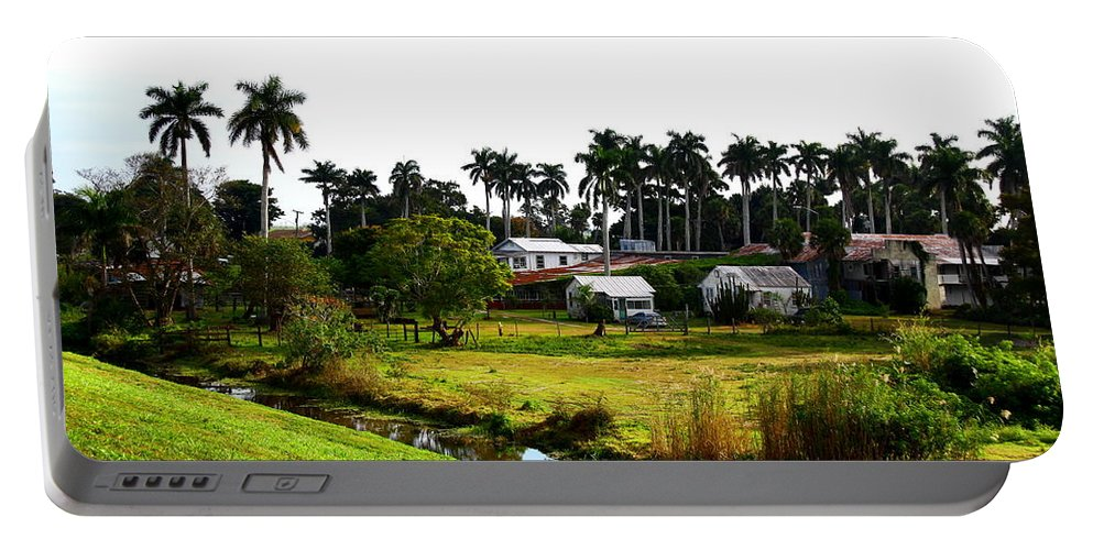 Pahokee Portable Battery Charger featuring the photograph Town Of Pahokee by Barbara Bowen