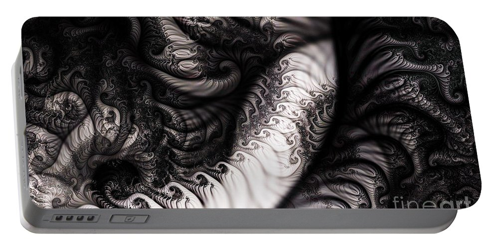 Clay Portable Battery Charger featuring the digital art Traffic Jam by Clayton Bruster