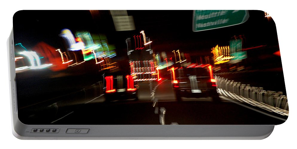 Cars Portable Battery Charger featuring the photograph Traffic by Robert Meanor