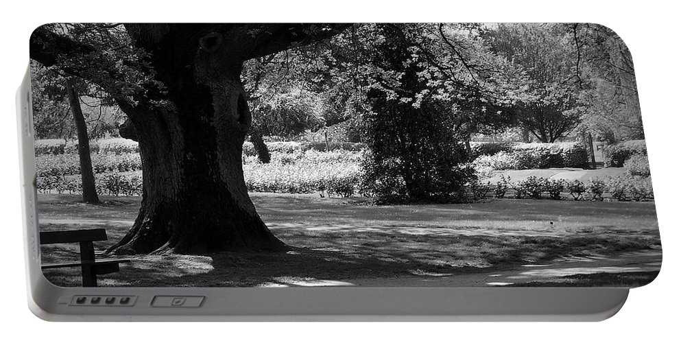 Irish Portable Battery Charger featuring the photograph Tralee Town Park Ireland by Teresa Mucha