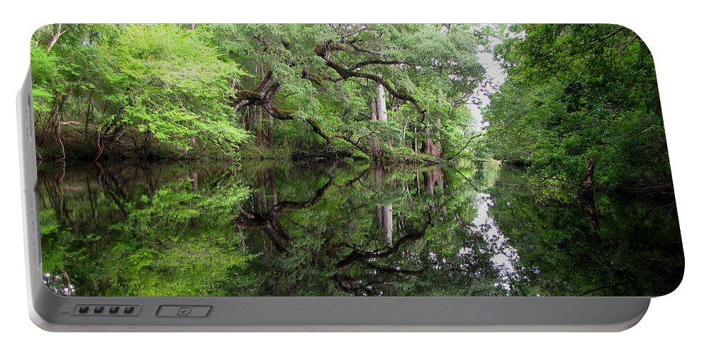 Tranquility Portable Battery Charger featuring the photograph Tranquility by Barbara Bowen